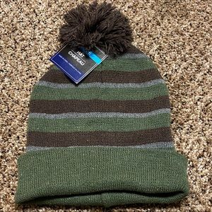 NWT Men's striped knit Hat